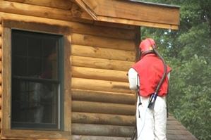 Log Home Repair